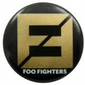 Foo Fighters - 'The Line' Button Badge